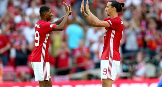 Rashford: Ibrahimovic Is Easy To Talk To