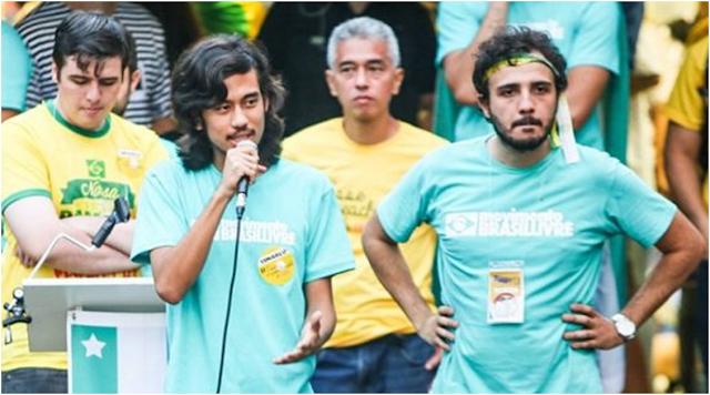 Movimento Brasil Livre e Bolsonaro