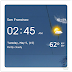 Android Hava Durumu: Transparent Clock And Weather