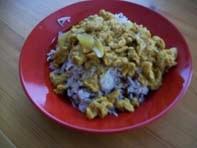 vegan essen in wien - Veganer Cashew Reis mit Sojaschnetzel - Persien (veganes Rezept für 2 Personen) - hauptspeise