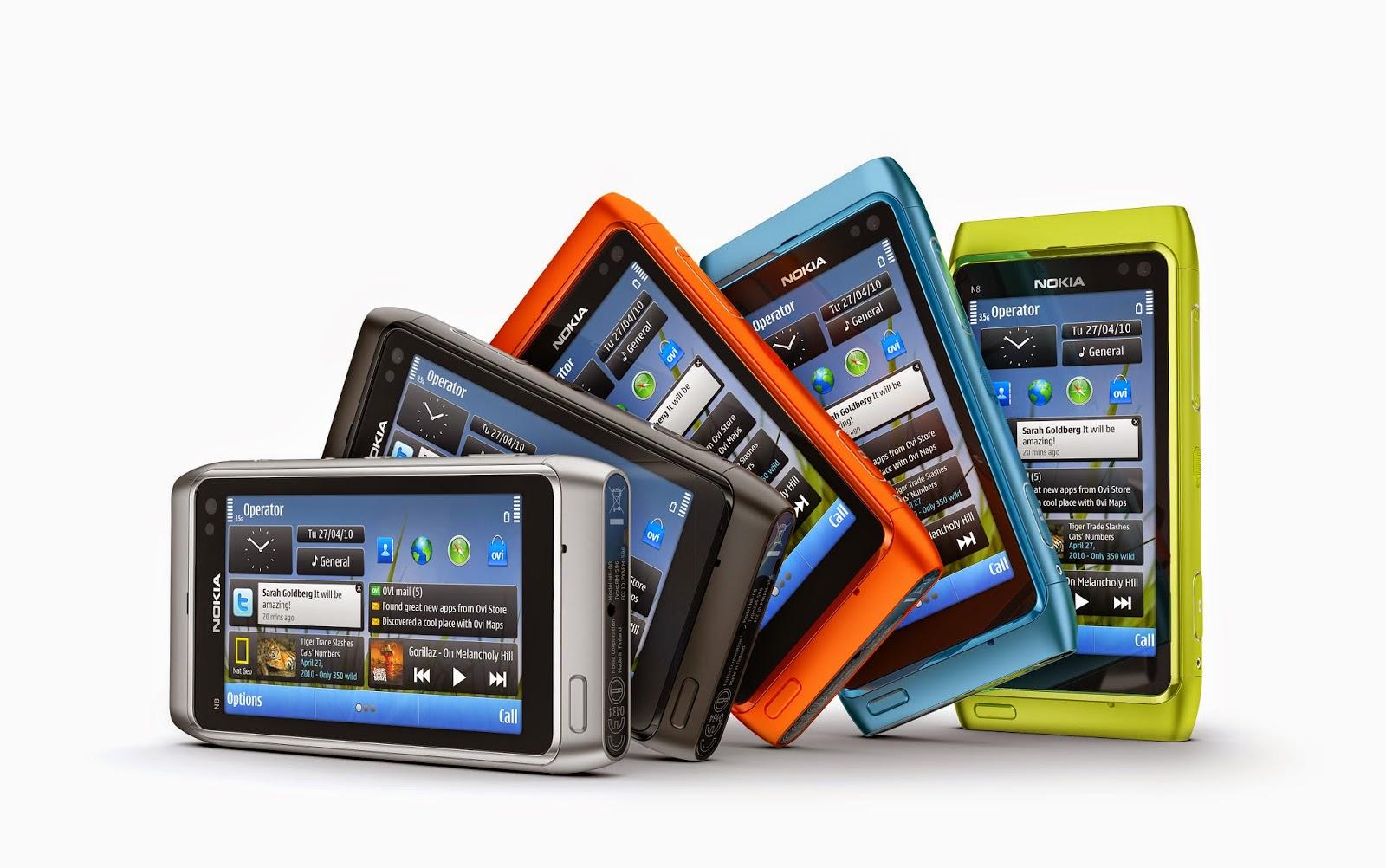 10 aparelhos mais vendidos da Nokia com o sistema Symbian 2
