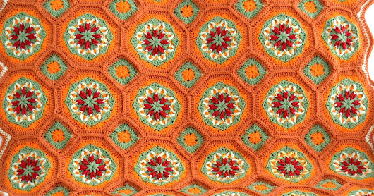 Dress up your home for holidays with this Handmade Afghan.