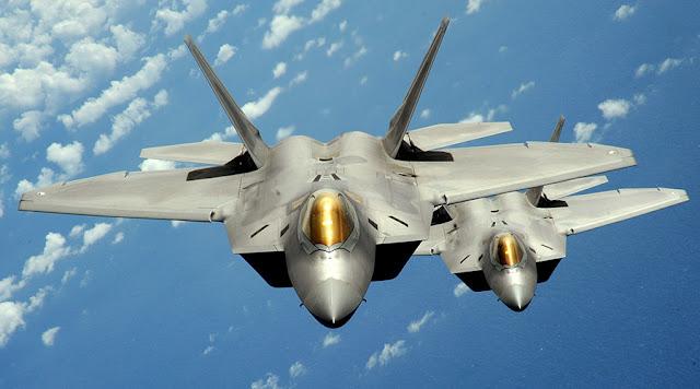 Jet tempur siluman AS Unjuk Kehebatan di Korea Selatan
