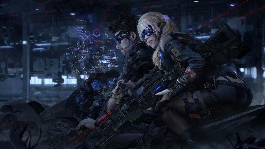 Sci Fi Soldier Weapon 4k 3840x2160 Wallpaper 5