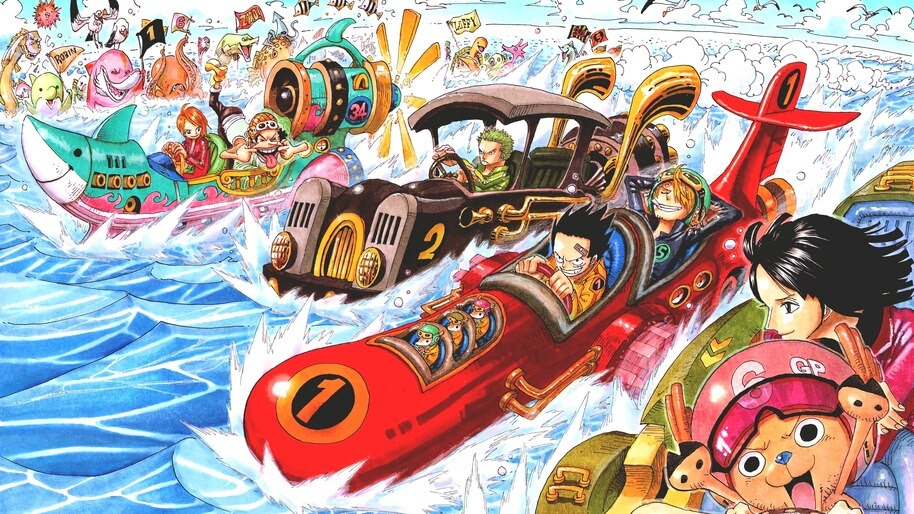 One Piece, Straw Hat Pirates, 4K, #6.168