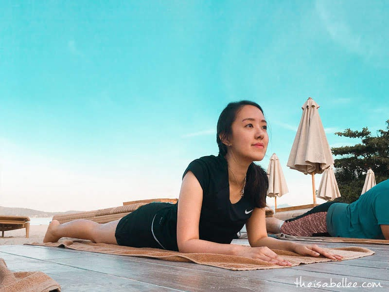 Morning yoga at Dash Resort Langkawi