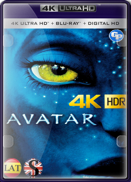 Avatar – Extended (2009) 4K HDR LATINO/INGLES