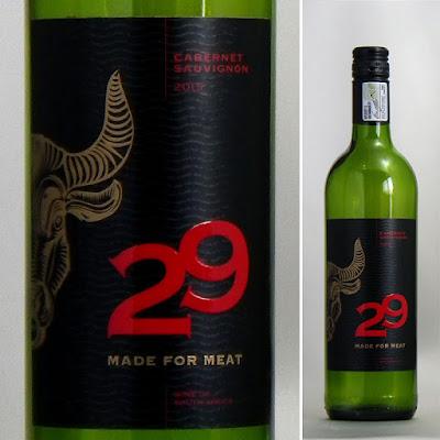 29 Twenty−nine メイドフォーミート カベルネソーヴィニヨン 2015