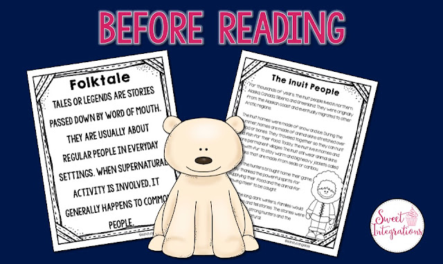 This post is about using mentor text to learn about folktales from other cultures. The Polar Bear Son is a beautiful tale that I've used as an example. Freebie included.