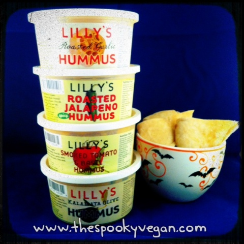 The Spooky Vegan Food Review Lilly39s Hummus