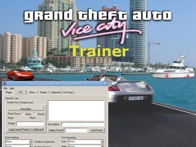 GTA vice city trainer by MBM Gamer