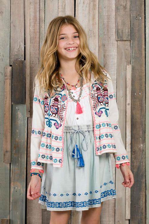 Moda primavera verano 2018 ropa de nenas.