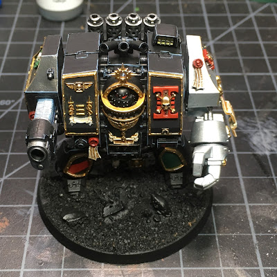 WIP: Deathwatch Dreadnought (Top)