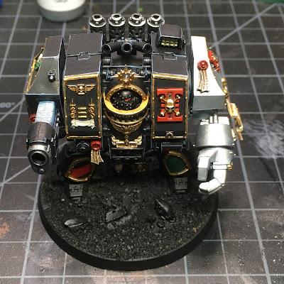 WIP: Deathwatch Dreadnought (Top)