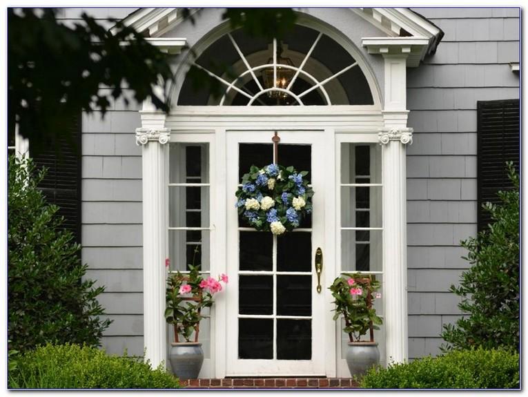 GLASS Front Door WINDOW Coverings