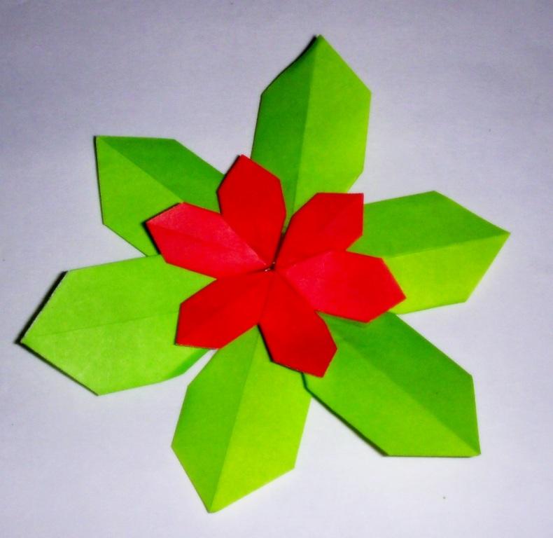 Origami Origami Poinsettia