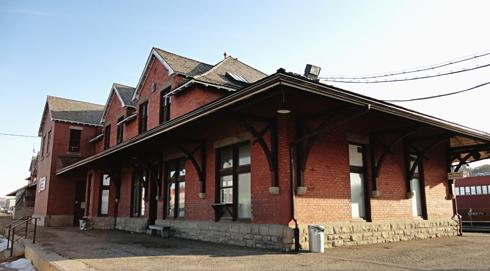 Train Station Medicine Hat Alberta