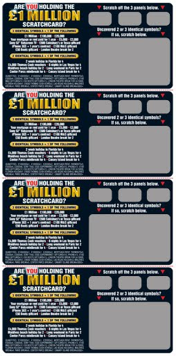 Purely Creative Scratch Cards