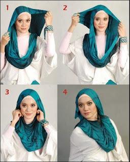 Cara Memakai Hijab Yang Trend Saat Ini
