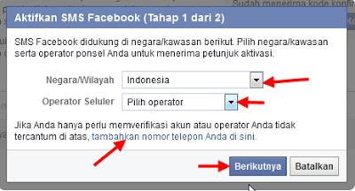 Cara Menambah Nomor Telepon di akun facebook
