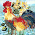 Гелла_Чара Растеряла дар речи! .  Лоскутные картины Валентины Максимовой из Углича. .  Любая собака знает, что много.