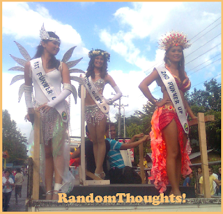 Pasalamat Queen and her court
