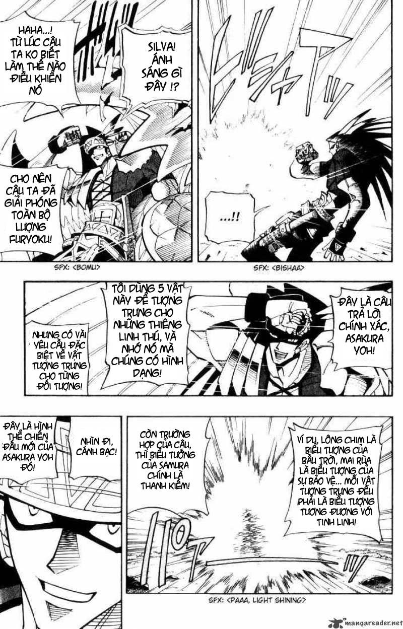 Shaman King [Vua pháp thuật] chap 29 trang 17