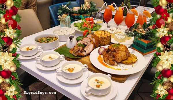 Christmas family platter - Christmas - Bacolod hotels - Seda Capitol Central - Bacolod blogger - Bacolod mommy blogger - noche buena - Bacolod restaurants