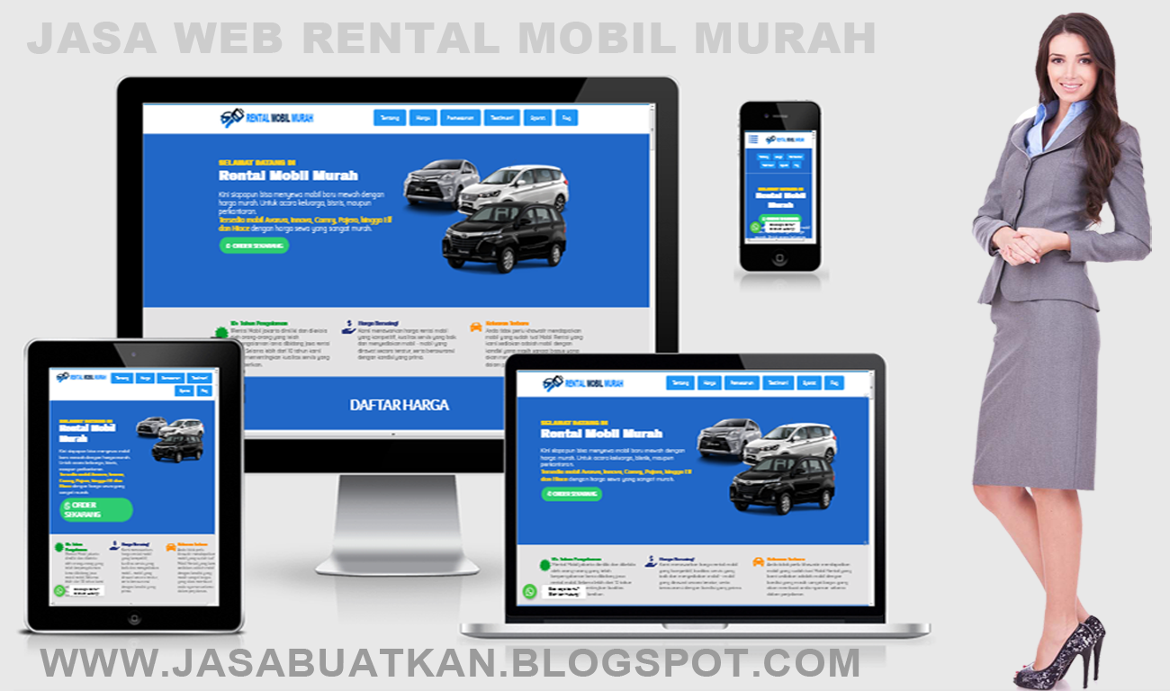 JASA BUAT WEB RENTAL MOBILE MURAH