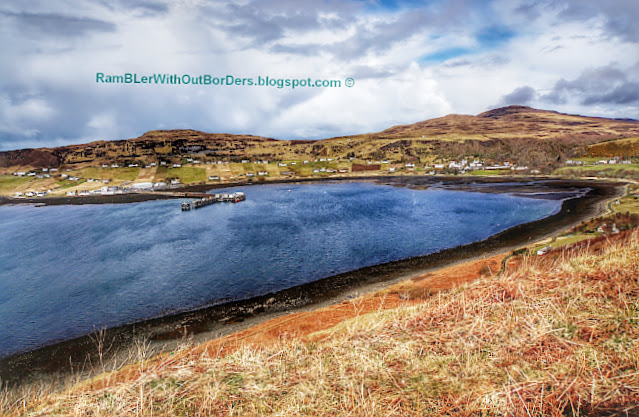 the bay of Uig, Isle of Skye, Scotland, UK
