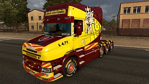 Scania T Convoi skin mod