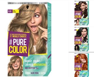 Vopsea de par Pure Color diverse culori