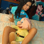 Selena Spice Camiseta Azul, Cachetero Azul, Elmo Comegalletas Foto 48