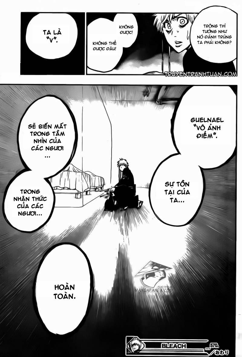 Bleach chapter 570 trang 19