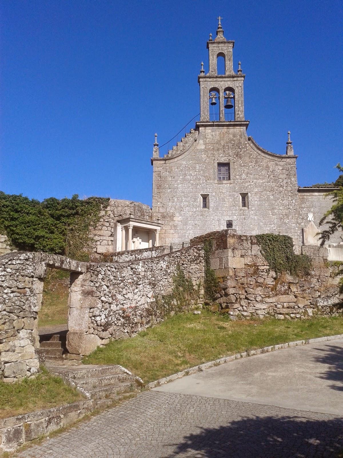 Iglesia de Santa María de Vilanova en Allariz