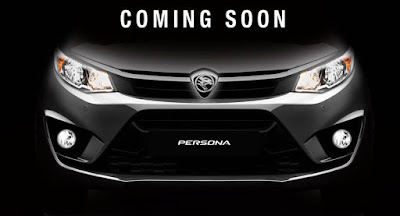 New 2016 Proton Persona  upcoming front teaser