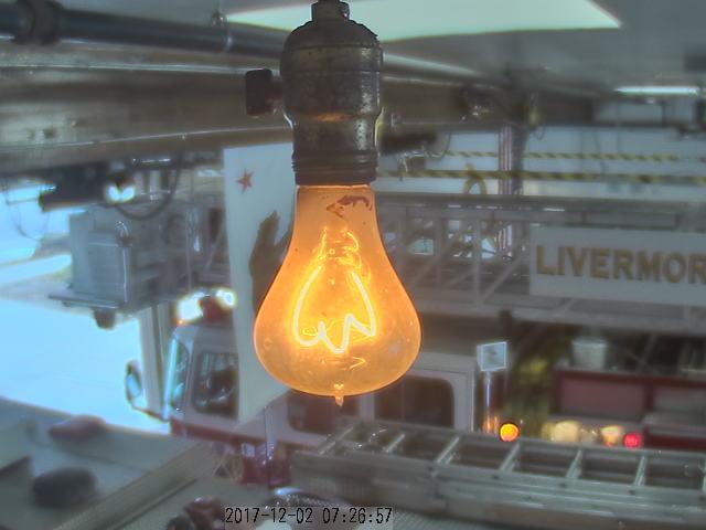 California Fire Station Light Bulb