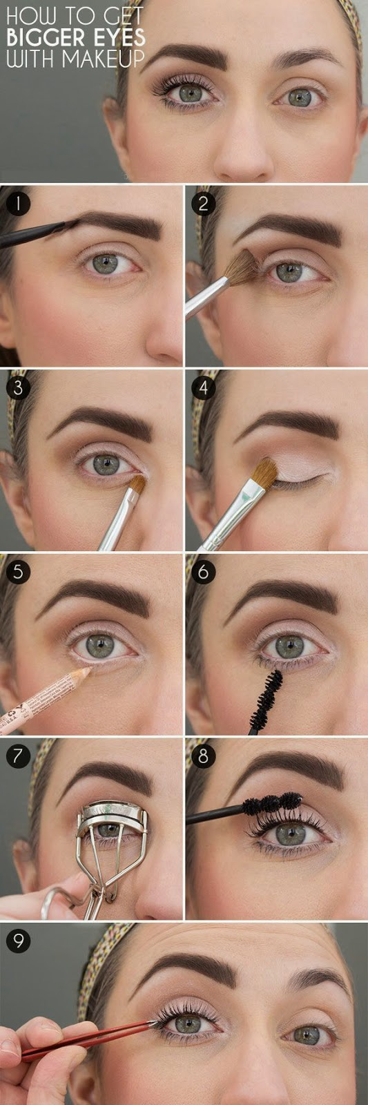 Step By Makeup For Big Eyes Anexa Market