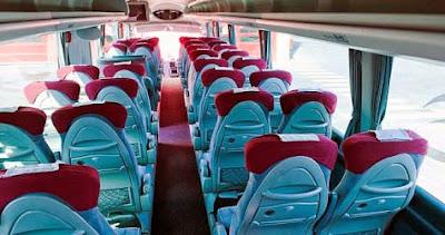 Interior de autobús Avanzabus