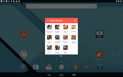 Aplikasi pembersih sampah dan percepat kinerja android