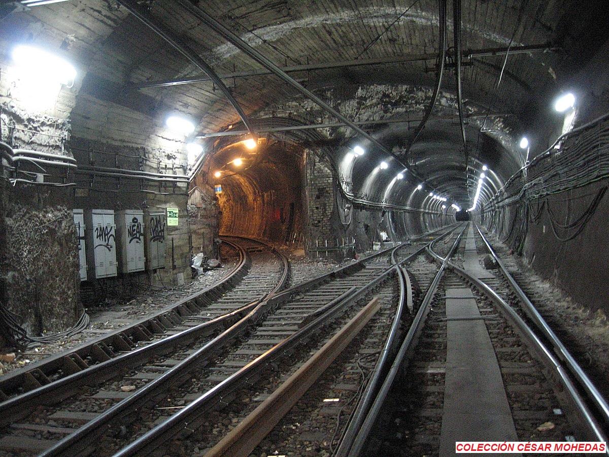 Madrid Ferrocarriles Y Transportes Urbanos El Ramal Goya Diego De