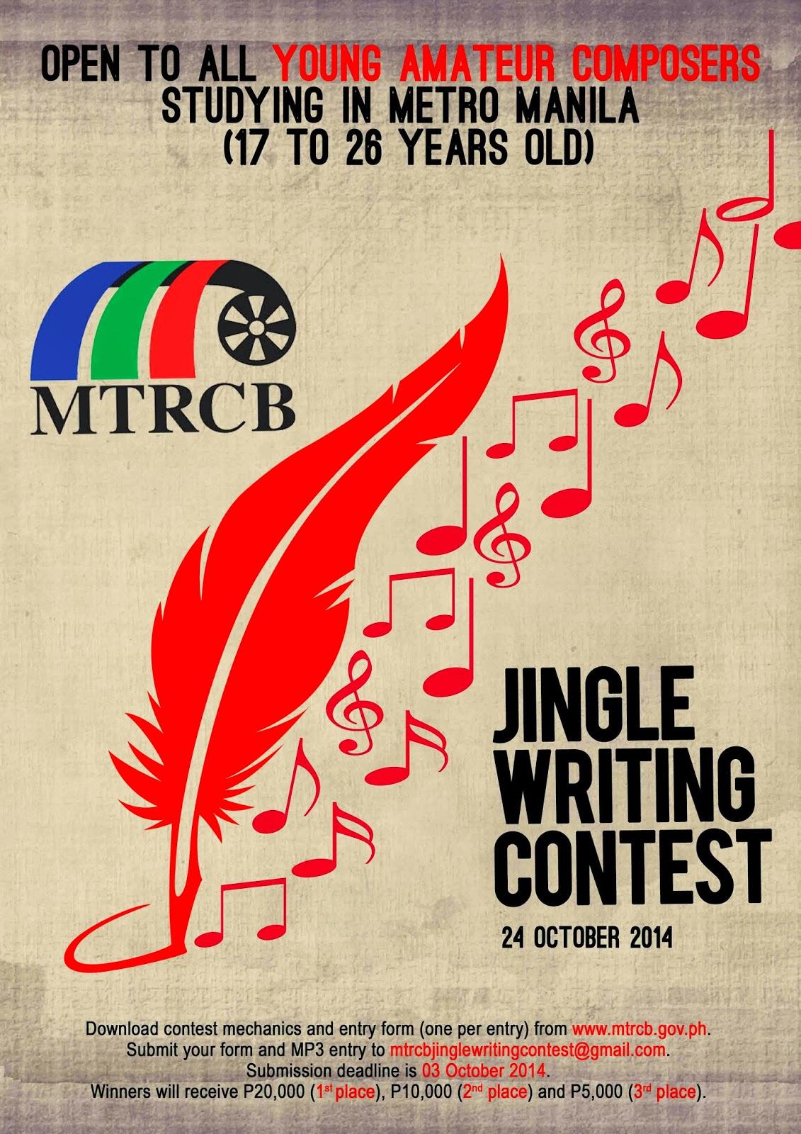 write a jingle contests