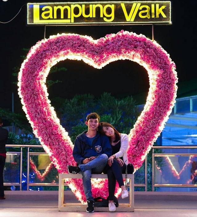 spot foto 3d lampung walk