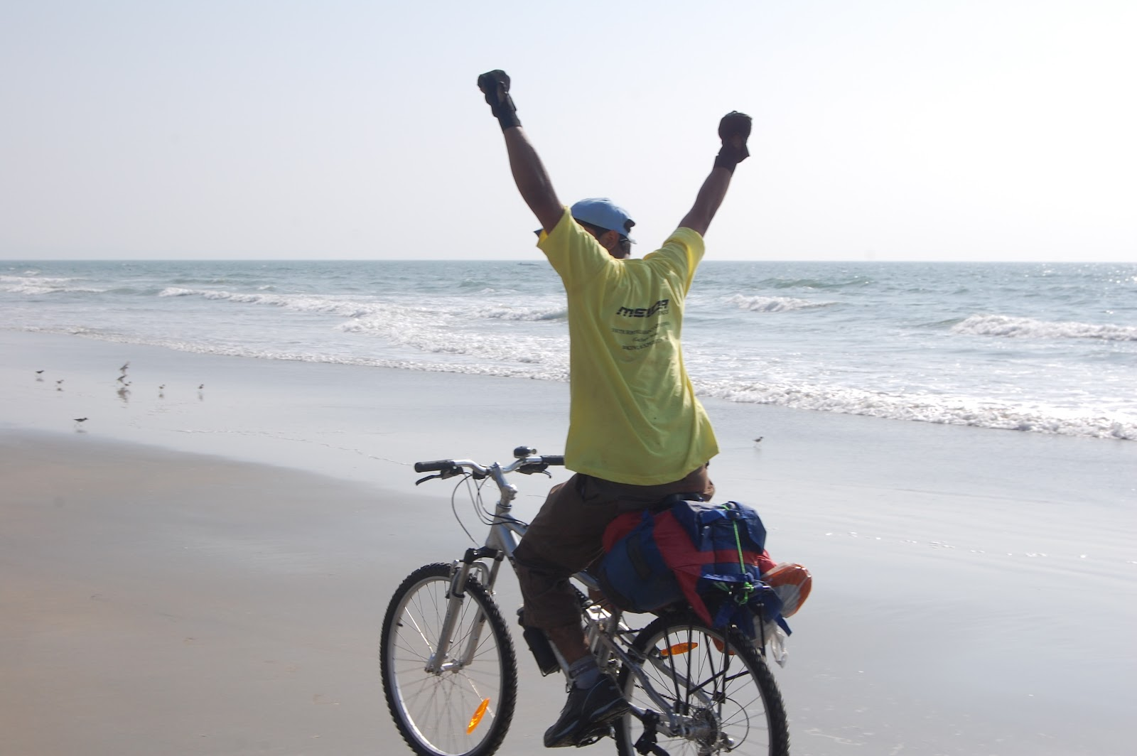 Goa cycling trip
