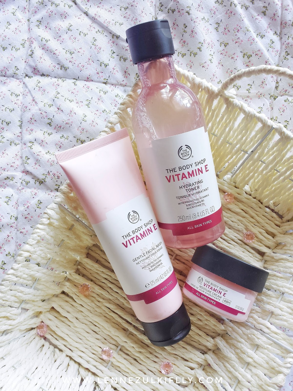 The Body Shop Vitamin E Skincare Range | LENNE ZULKIFLLY