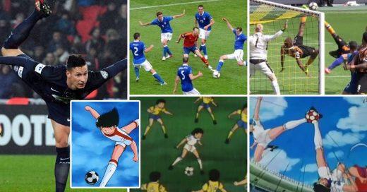 Jugadas de Supercampeones hechas por futbolistas reales