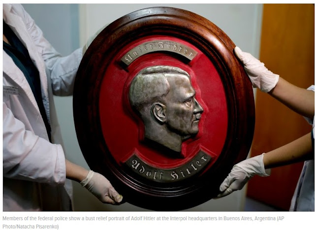 Massive Collection of Nazi Artifacts Uncovered Inside Secret Room in Argentina