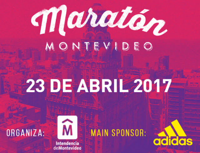 42k y 21k Maratón y media maratón de Montevideo (Uruguay, 23/abr/2017)