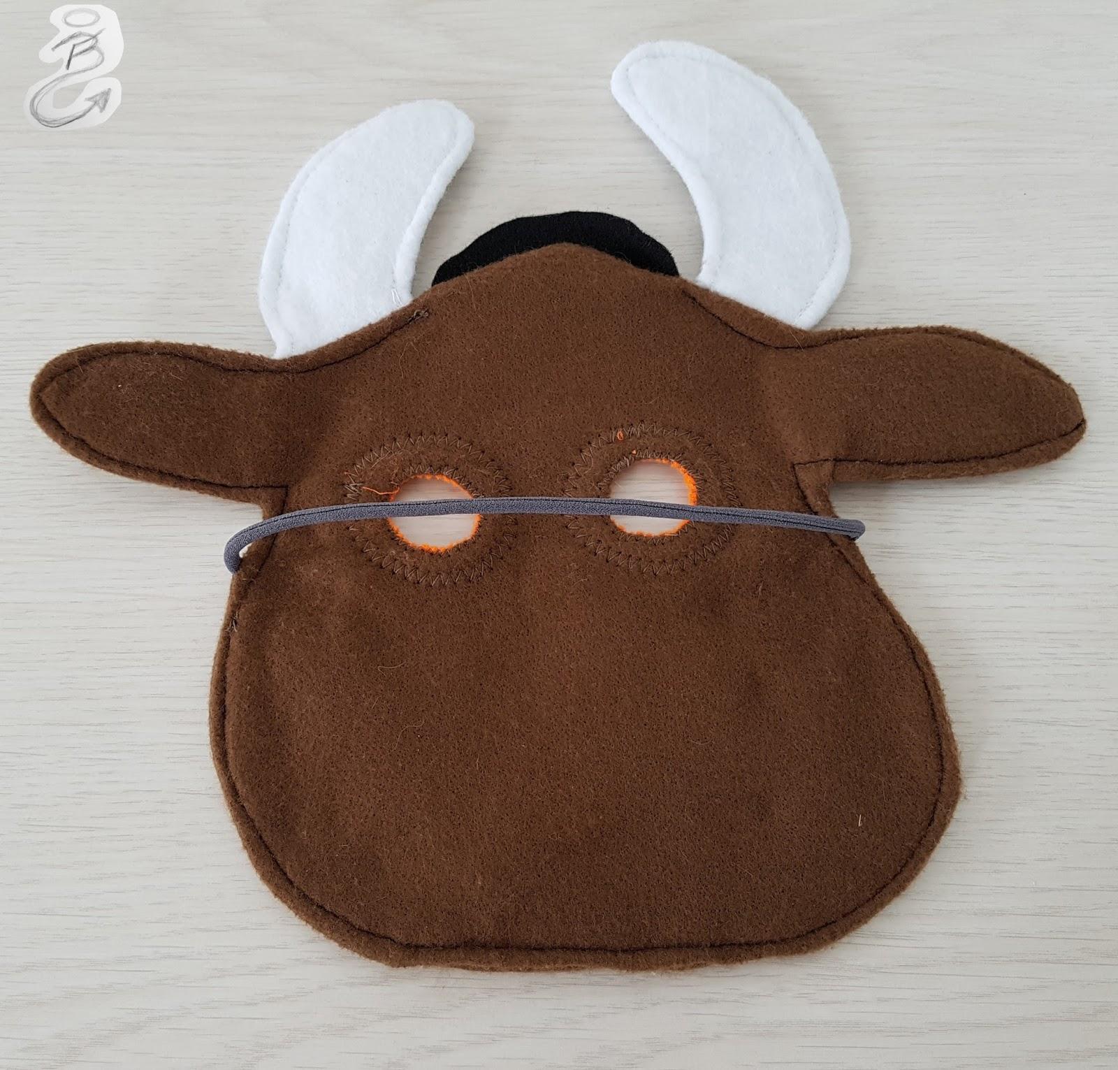 Nuckelpille by BF Grüffelo Maske & Grüffelo Kostüm genäht