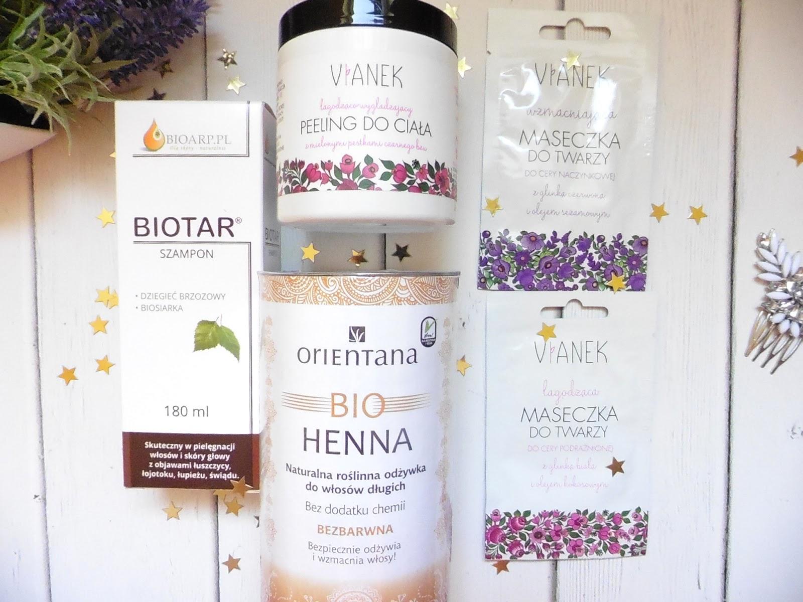 bio-henna-orientana,peeling-vianek, maseczka-vianek, szampon-biotar